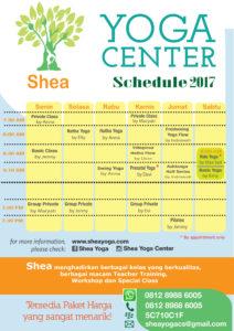 Schedule Shea 201612